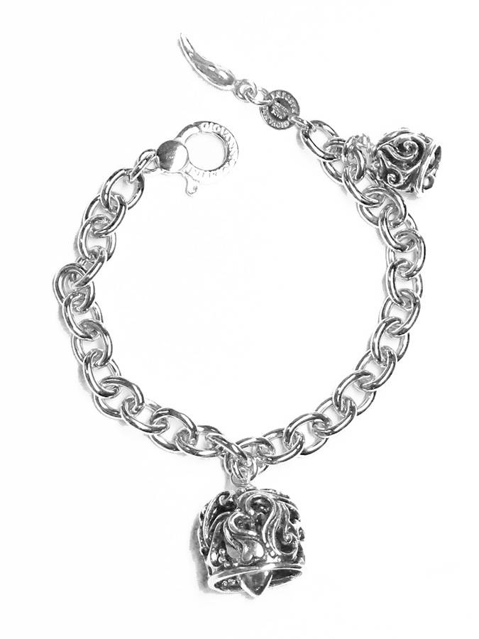 Los Angeles c4bfd 2424c Bracciali Bracciali con charms 9969 BRACCIALE JINGLE BELLS ...