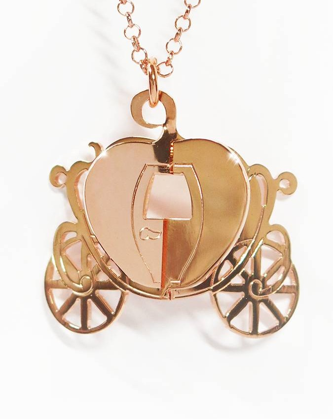 Collane -  - G0109 CARROZZA GRANDE ROSA - BEBA